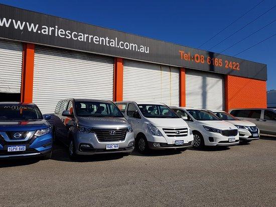 Aries Car Rental: Wide range of SUVs and MPVs