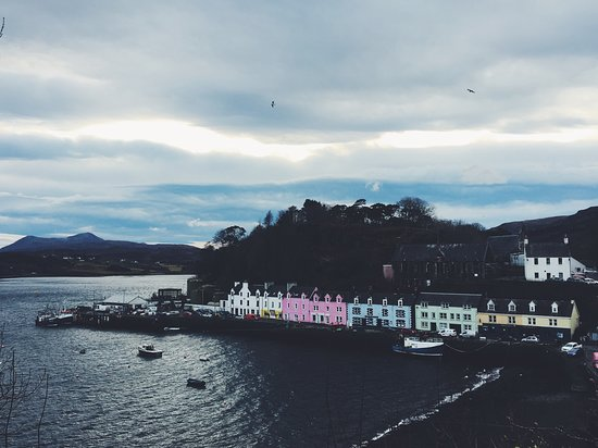 The cozy town Portree (2nd day)
