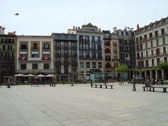 detail from Plaza del Castillo