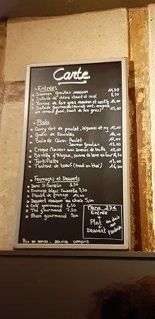 Restaurant Comptoir Demange Dans Neuville Sur Saone Avec Cuisine