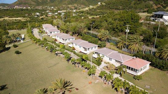 Cades Bay, Antigua: Aerial View of Suites