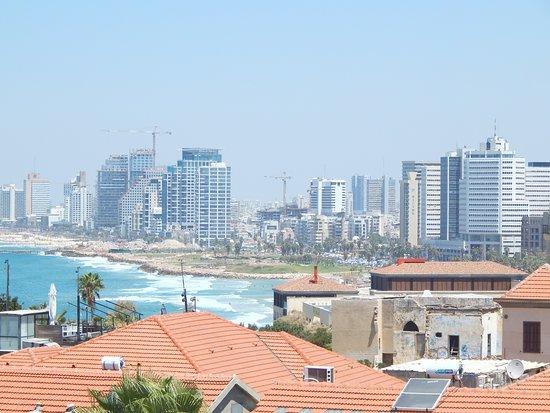"Tel Aviv. A look from ""The Setai"" hotel, Jaffa"