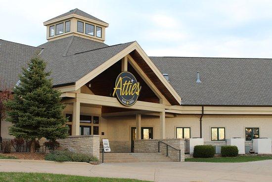Attie's is located at Stone Creek Golf Club.