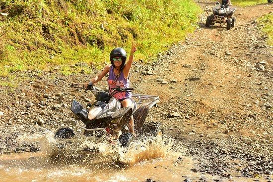 ATV Tour at Vista Los Sueños Adventure Park, Jaco, Costa Rica.