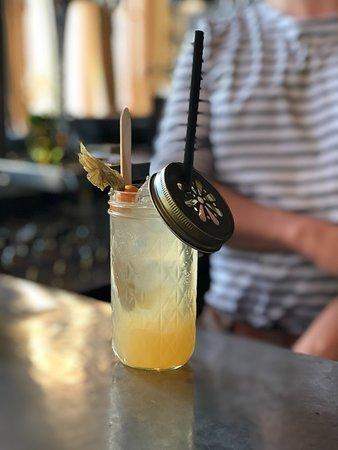 """Cocktail """"le globe trotteur"""" by Lucas"""