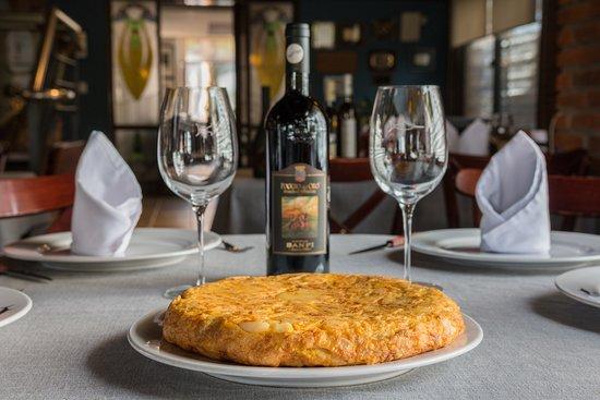 Пунта-дель-Эсте, Уругвай: Tortilla española