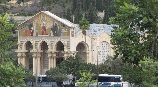 Israel Discovered - Renee Halpert Tour Guide: Church of the Agony and Garden of Gethsemane - Jerusalem