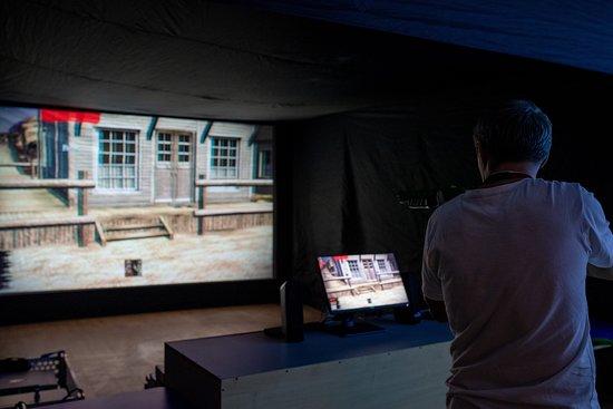 Shooting simulator WILD WEST