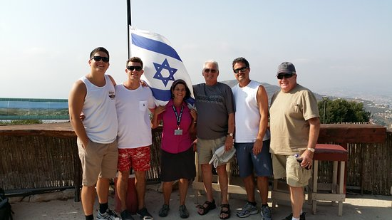 Israel Discovered - Renee Halpert Tour Guide: On the border - Misgav Am lookout into Lebanon