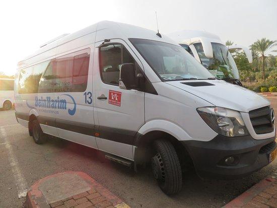 Tel Aviv, Israel: Smaller Van
