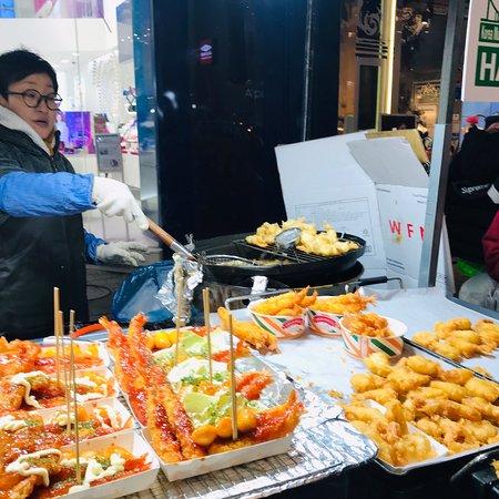 Seoul, South Korea: Séoul night market 😋👍