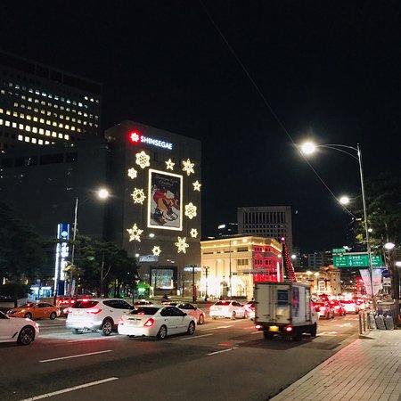 Сеул, Южная Корея: Séoul night market 😋👍