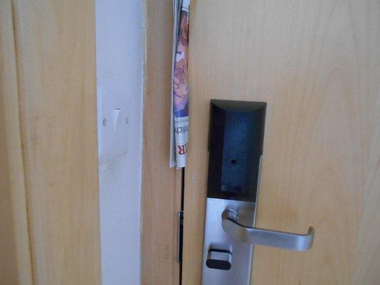 Cavalieri Art Hotel: So klappert die Tür nicht mehr.