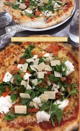 Pizza sur place
