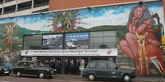 Taxi Trax: Dedicated Pasenger Terminal. Cafe, Restrooms and Tourist Office