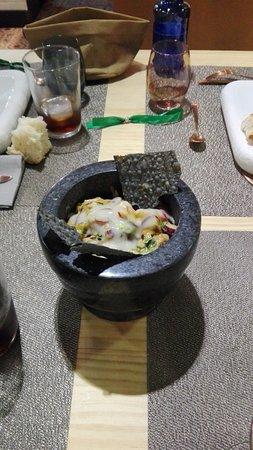 Nola Gras: Ceviche crujiente