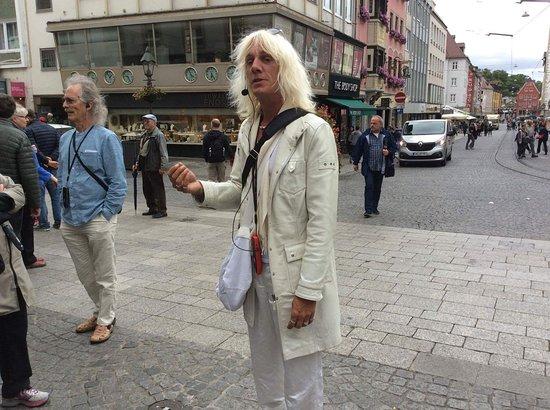 Wurzburg, Germany: I feel soooo white.