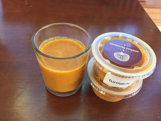 House fermented turmeric elixir
