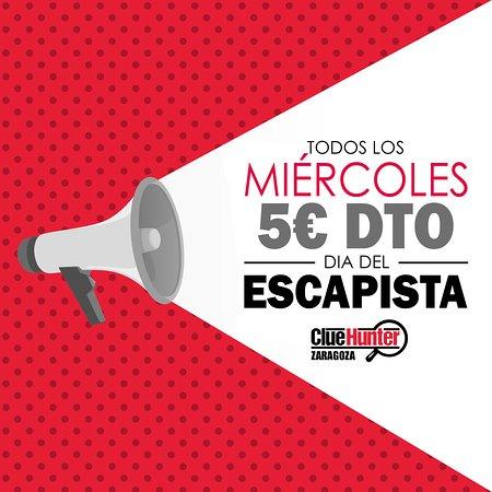Clue Hunter Zaragoza Room Escape: MIÉRCOLES LOCOS