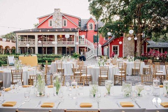 Charles Deering Estate Courtyard Wedding