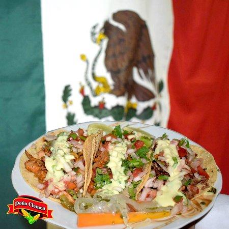 somos los tacos de la ciudad de La Paz, con Autentico sabor Mexicano!