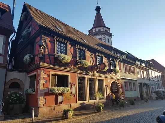Historische Altstadt: restaurante Frei