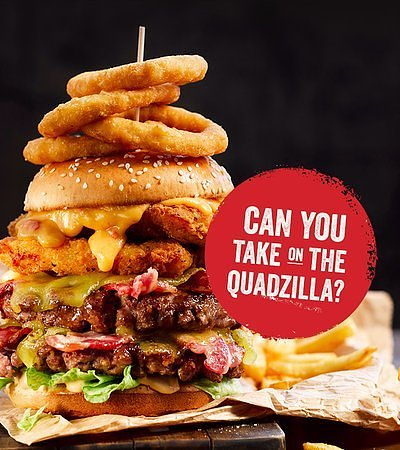 Laindon, UK: Can you take on the QUADZILLA?