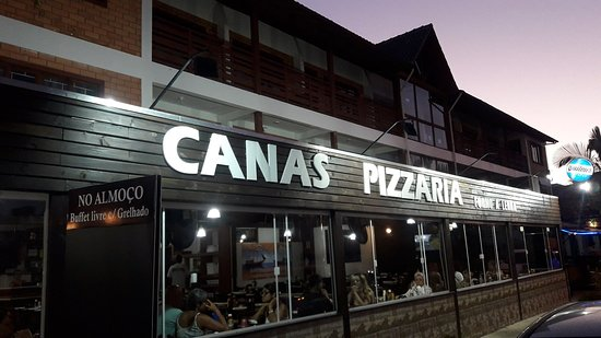 Canas Pizza e boas pizzas