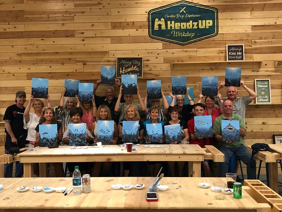 HeadzUP Vegas: DIY Paint Classes