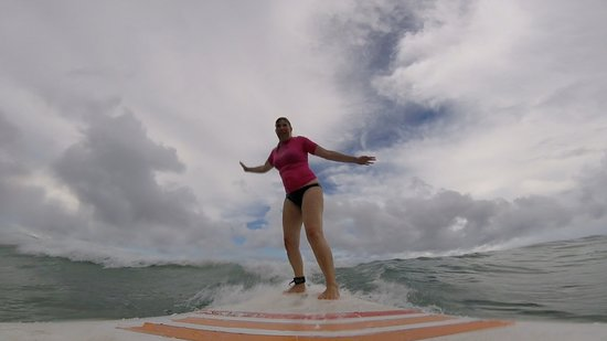 Barbados Surfing Lessons With Ride The Tide Surf School at Freight's Bay