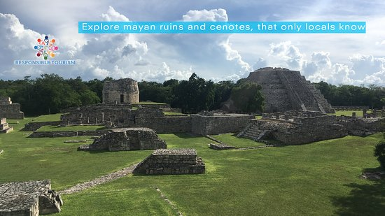 Incredible archeological site, Mayapan is not well known but its resemblance with Chichen is impressive the best part you can climb the ruins!