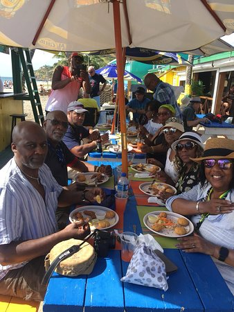Delighted to welcome any large or small group you may have.  Call 869 465 8423 or email Troyh@vibesbeachbar.com