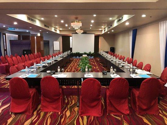 Meeting Room set up in Borneo Room