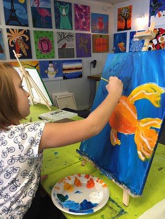 Studio 27 Arts: Student paint lessons
