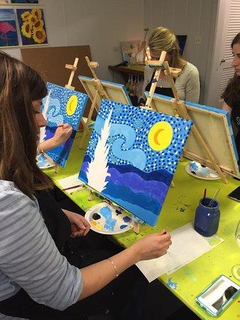 Studio 27 Arts: Adult Paint & Sip nights