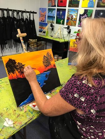 Studio 27 Arts: Paint classes offered throughout the year as well as Seasonal + Holiday events