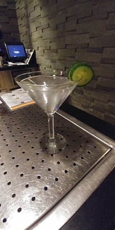 Lake Grove, NY: A nice Hendricks Martini will do the trick.