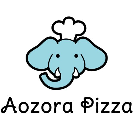 Aozora Pizza Store Logo