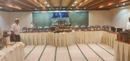 buffet section