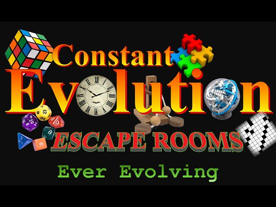 ‪Constant Evolution Escape Rooms‬