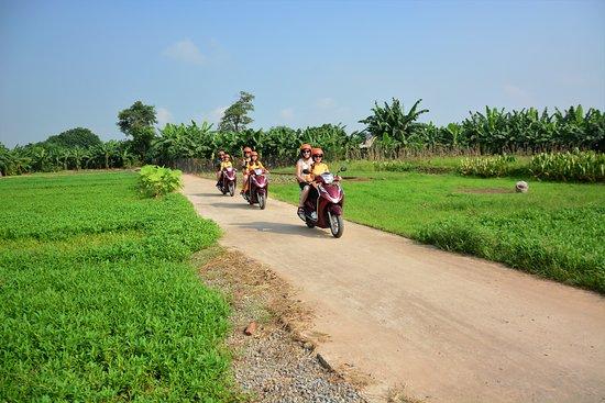 recorridos en moto por la ciudad