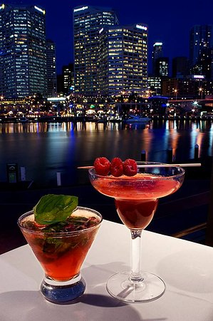 Cocktails with a view!