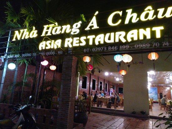 Nhà Hàng Á Châu - Asia Restaurant Phu Quoc