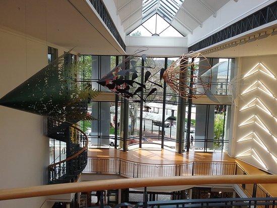 Dunedin Public Art Gallery: View from upstairs