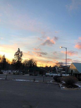Sunset at Woodland Park
