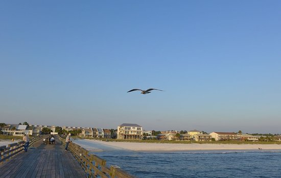 Mexico Beach, Флорида: View from the Pier