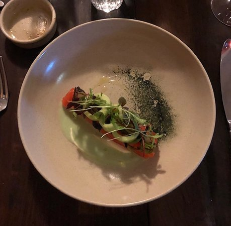 Grazing dinner - salmon