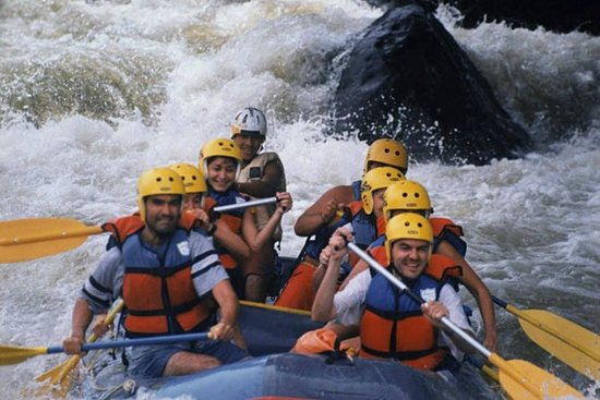 Whitewater Rafting on the Pacuare...
