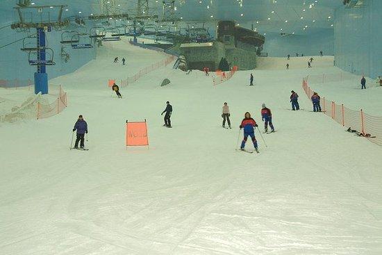 Sessões na Pista do Ski Dubai