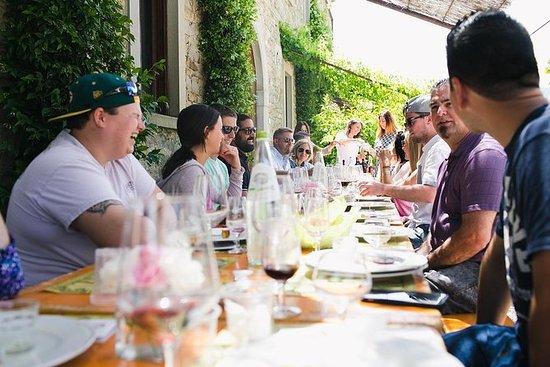 Degustazione di vino Toscano in Val